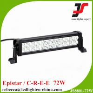 12 volt led bar light truck accessories 13.5inch 72w led light bar Manufactures