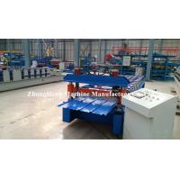 Quality Aluminium Profile Roof Panel Roll Forming Iron Sheet Making Machine made in China for sale