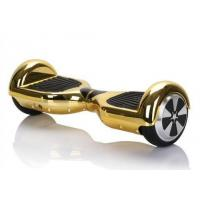 Gold Two Wheels Self Balancing Electric Scooter , Kids Electric Powered Skateboard Manufactures