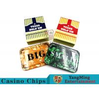Texas Holdem Set of 3 SmallBlind, BigBlindand DealerPokerButtons For Casino Poker Table Games Manufactures