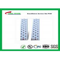 Long LED Lights PCB , Aluminum PCB White Solder Mask High-frequency PCB Manufactures