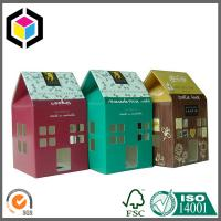 Gable Top Custom Color Print Paper Packaging Box; Matte Color Paper Packing Box Manufactures