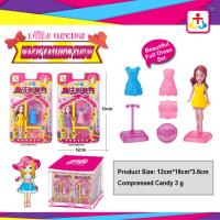 Magic fashion show toys for girl with press candy Manufactures