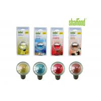 Long lasting Colorful Round Crystal Liquid Car Air Freshener Aromatous Manufactures