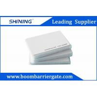 0.86mm 13.56 MHz Smart PVC RFID Card For Electronic Toll Collection Management Manufactures