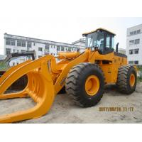 8ton/10ton/12ton15ton wheel loader with grapples attachments 5ton to 25ton wood atv log loader with Cummins engine Manufactures