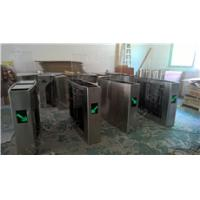 Security Access Control Flap Barrier Gate Full Automatic For Station And Airport