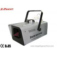1200W Artificial Snow Making Machine Professional Snow Machine Flurry Effect   X-012 Manufactures
