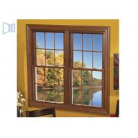 Low E Aluminium Vertical Sliding Windows Energy Saving Tempered Glazed Manufactures