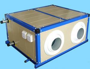 4rows Fresh Air Ventilator With Ahu Machine Air Handlers Manufactures