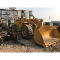 China New Paint Used CAT Loaders , 966C Caterpillar Front End Loader CAT 3306 Engine on sale