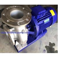 ISWH Stainless steel horizontal centrifugal pump Manufactures