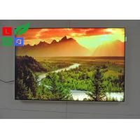 DC 12V / 24V LED Fabric Light Box High Brightness For Garment Clothes Store Display Manufactures