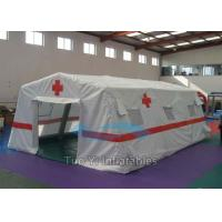 Quality Medical Durable PVC Inflatable Tents / Customized Easy Setup Airtight Rescue Tent for sale