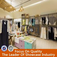 2015 new design ladies clothes shop shelves fitting Manufactures
