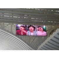 SMD 3535  Cree Scan LED Video Billboards , P10 Flexible Led Video Wall Manufactures