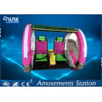 Happy Leswing Car Amusement Game Machines Ergonomic Structural Seat Two Seats Manufactures