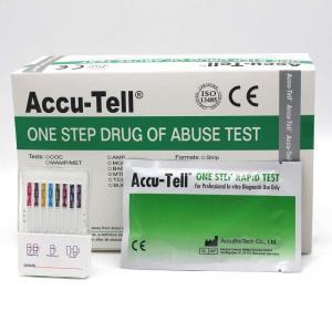 Accu-Tell® Multi-Drug Fast-Dip Rapid Test Panel (Urine) Manufactures