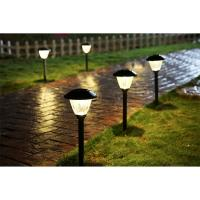 Quality Elegant Solar Powered Landscape Lights / Lamps 4 - 8 Lumens For Decorative for sale