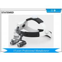 China 5W High Power Rechargeable Surgical Headlamp / Medical Led Headlight With Loupes on sale