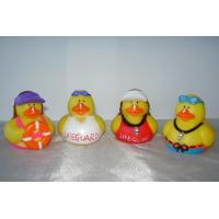 Quality Non Phthalates Doctor Personalised Rubber Bath Ducks Toy For 3 Year Olds 16P for sale