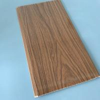Quality Anti Corrosion PVC Wood Panels For Interior Decoration 7mm / 7.5mm / 8mm for sale