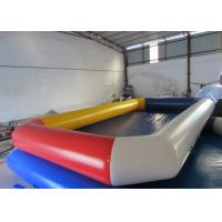 China Water Park Adult Inflatable Water Games Rectangle Big Blow Up inflatable Pools for water games on sale