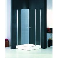 Semi Frameless Pivot Shower Enclosure Glass Shower Cubicles 800 X 800 Manufactures