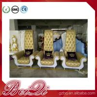 BeiQi manicure and pedicure equipment high back cheap king throne spa pedicure chair for sale Manufactures