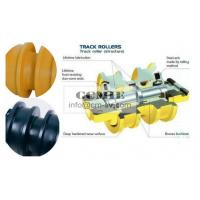 Quality PC150 PC220 PC400 Excavator Komatsu Spare Parts Track Roller With Steel Metal Material for sale
