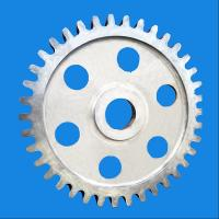 Carbon Steel Forged Large Diameter Sprocket Gear Wheel For Power Plant Manufactures