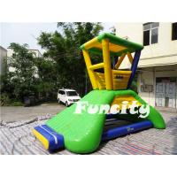 6mLx5mWx4.2mH Inflatable Water Toys 0.9mm PVC Tarpaulin Water Lifeguard Tower Manufactures