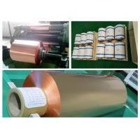 9um RA Double Shiny Rolled Copper Foil Lithium - Ion Batteries Suitable Manufactures