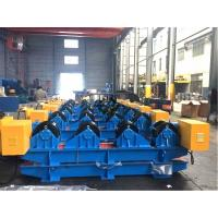 15 Ton Tank Turning Rolls With Motors / Gearbox Workpiece Dia. Range 600 - 4200mm Manufactures