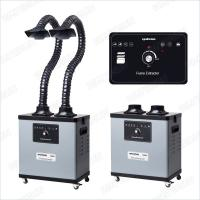 200 W F6002 Benchtop Fume Extractor For Soldering , Noise Reduction Design Manufactures