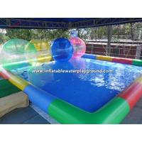 Custom Durable Backyard Inflatable Water Ball Pool For Kids Play Manufactures