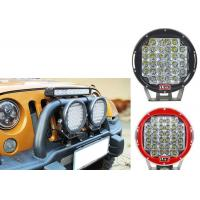 96W Red Black Housing LED Driving Lights For Offroad And Truck 4x4 Waterproof Round led Work Light Manufactures
