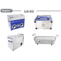 Limplus 3liter Knob Control Ultrasonic Cleaner 120W Jewelry Watch Clean Manufactures
