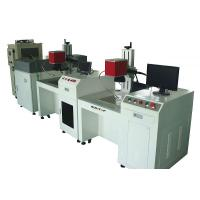 300W Galvanometer Scanning Fiber Laser Welding Machine , High Efficiency Dot Welding Manufactures