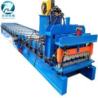 Aluminum Mectoppo Glazed Tile Roll Forming Machine With Delta PLC Control Manufactures