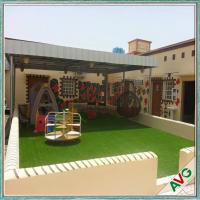 Warm Green Color Soft Hand feeling but Strong Dence Turf Surface for Play Ground Manufactures