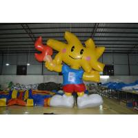 Funny Custom Commerce Inflatable Cartoon Characters For Commerical Exhibition Manufactures