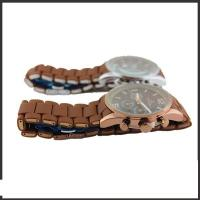 Alloy And Brown Silicon Band Multifunction Wrist Watch With Most Features Manufactures