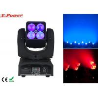 4PCS*12W RGBW Zoom Wash Beam Moving Head Light High Brightness  X-88A