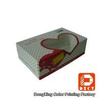 Quality Bakery Dessert Eco Friendly Food Packaging Boxes Foldable With Open Window for sale