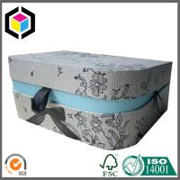 D Shape Gift Packaging Box with Front Lock; Lid Hinged Gift Paper Box Manufactures
