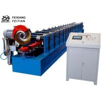 High Speed Downspout Roll Forming Machine PLC Control Half Round Gutter Machine Manufactures