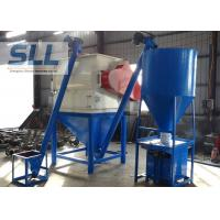 Quality Steel Tile Bonding Dry Mortar Equipment With Packing Machine 1 - 5t/H Production for sale