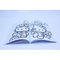 Custom A4 Printable Colouring Books To Print / Comic Story Book For Children Manufactures