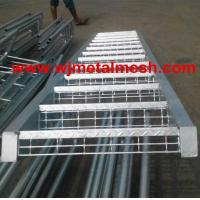 Steel galvanized grating stair treads out door stair treads Manufactures